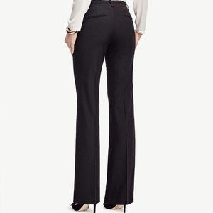 Ann Taylor Black The Synethetic Flare Pant Stretch